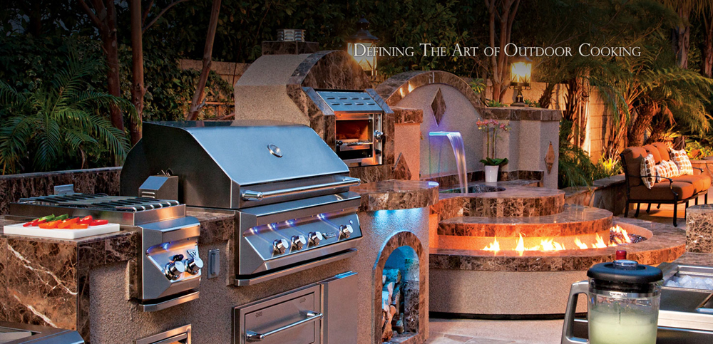 planning a functional outdoor kitchen cohearth. Black Bedroom Furniture Sets. Home Design Ideas